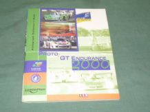 PROTO/GT ENDURANCE 2000 Autograph Collectors Book. ISRS/ALMS/Le Mans Press Book